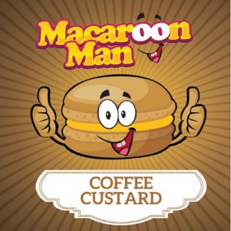 Macaroon Man Coffee Custard